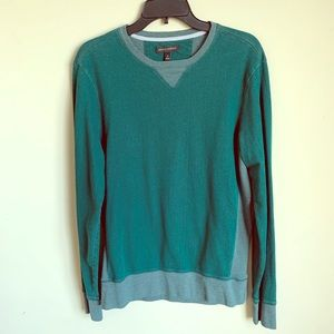 Banana Republic Men's Green 100% Cotton Sweater